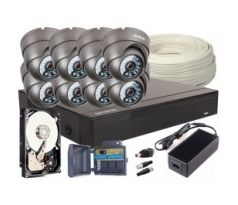 Set 4v1, 8x kamery FULL HD / IR20, 8ch DVR, 1TB HDD